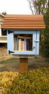 Another Little Free Library in the Magnolia neighborhood of Seattle.